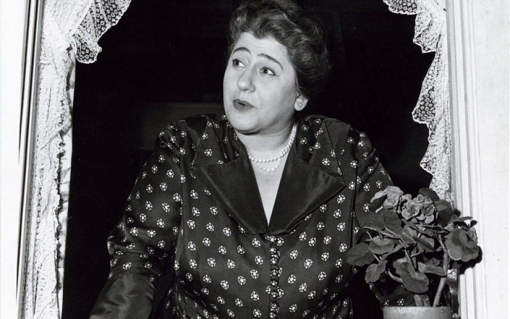 Gertrude Berg as Molly Goldberg of 'The Goldbergs.' (photo credit: CBS Television/JTA)