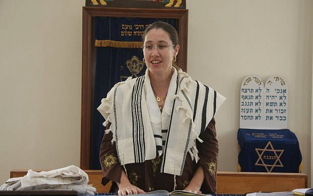 Rabbi Alona Lisitsa, in a photo from her Facebook page