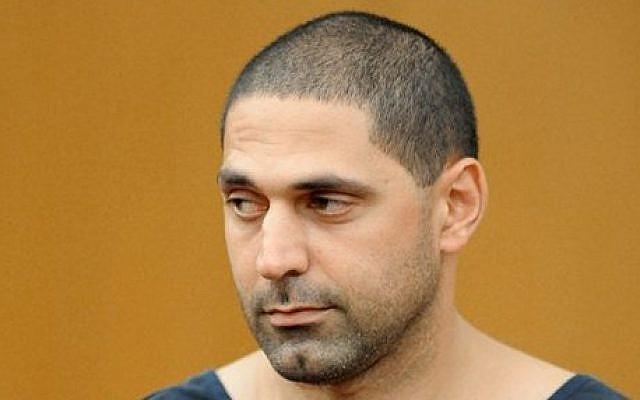 Suspected serial killer Elias Abuelazam (photo credit: AP/Erik S. Lesser)