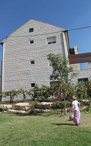 Typical building in the Givat Ulpana neighborhood of Beit El (photo credit: courtesy)