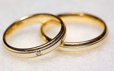Wedding rings. (Photo credit: Ernst Vikne, via Flickr, CC BY-SA )
