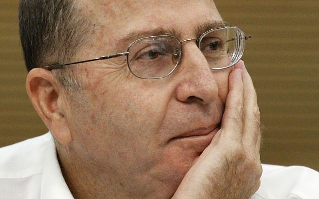 Moshe Yaalon (photo credit: Miriam Alster/Flash90)