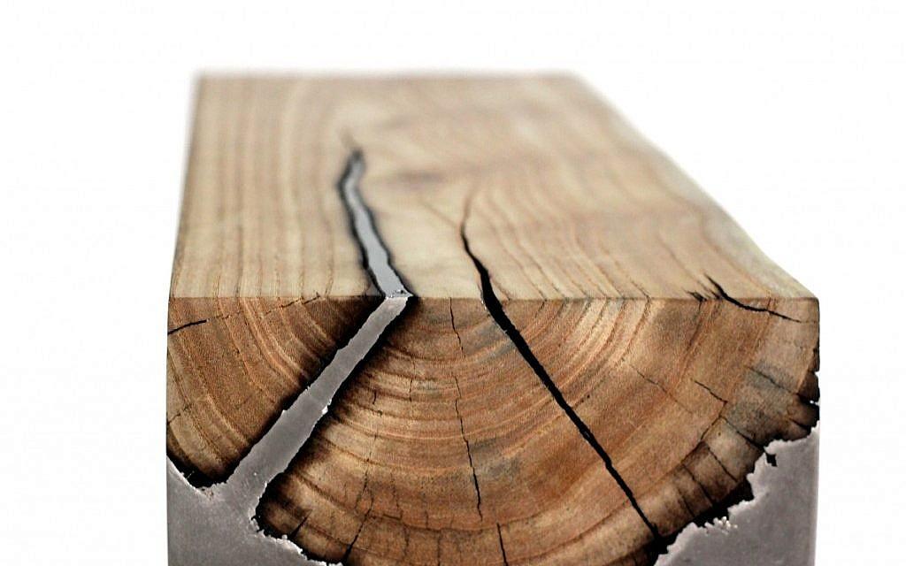 Wood casting by Hilla Shamia (Courtesy Hilla Shamia)