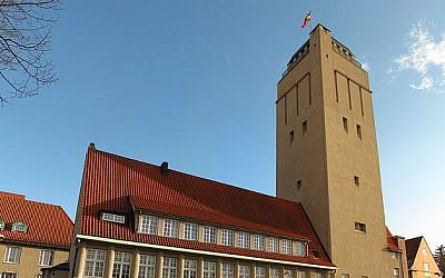 The Delmenhorst water tower. (photo credit: CC-BY-SA fbaett, Flickr)