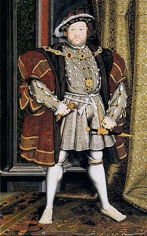 Henry VIII (photo credit: Wikimedia Commons)