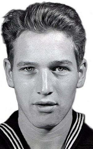 Paul Newman when he was in the US Navy. The SeriousFun Kids Network is one of the several philanthropic projects Newman started. (photo credit: US Navy, Wikimedia Commons)