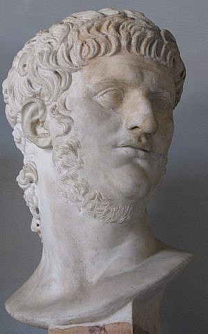Bust of Nero at the Musei Capitolini in Rome (photo credit: CC-BY-SA cjh1452000; Wikimedia Commons)