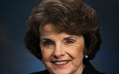 Dianne Feinstein (photo credit: Wikimedia Commons)