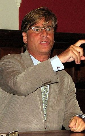 Aaron Sorkin (photo credit: CC-BY-SA Pruneau, Wikimedia Commons)