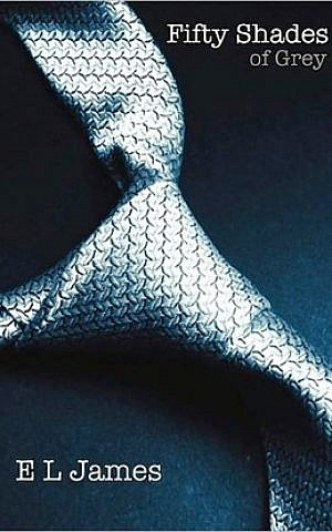 'Fifty Shades of Grey' cover art. (photo credit: Courtesy)