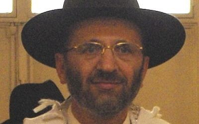 Chief rabbi of France Gilles Bernheim (photo credit: CC-BY-SA 2.0 Olevy/Wikimedia)
