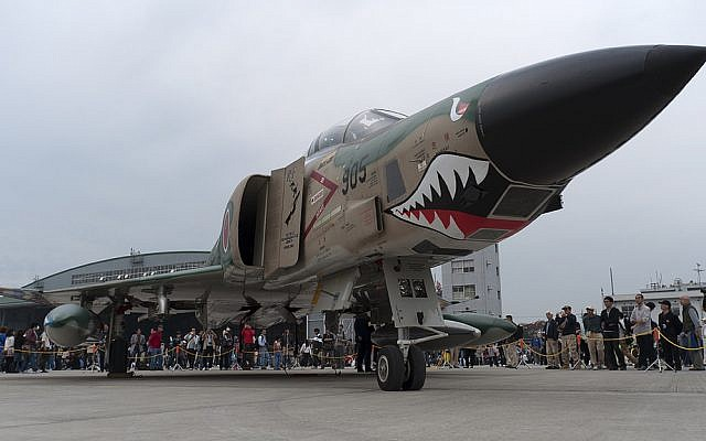 An RF-4E recon plane. (CC-BY Torugatoru, Flickr)