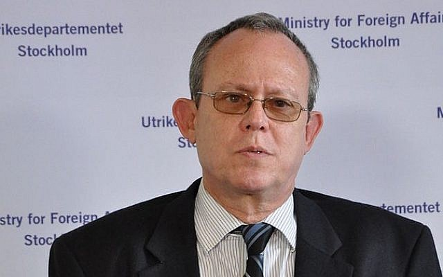 UN censorship expert Frank La Rue (photo credit: Janwikifoto/Wikipedia)