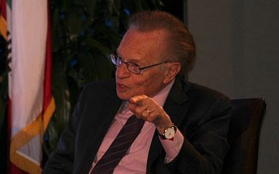 Larry King (photo credit: CC-BY  Edward Headington, Flickr)