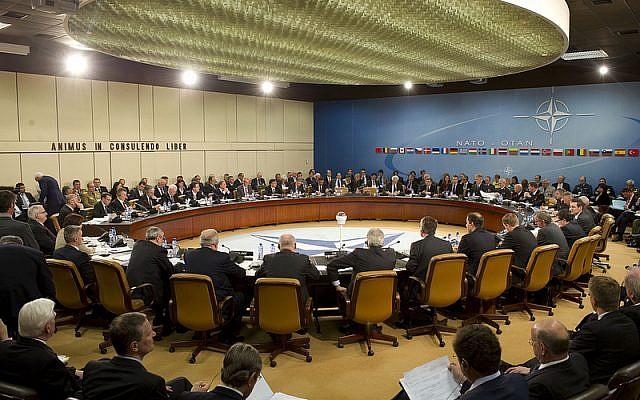 NATO headquarters in Brussels, Belgium, April 18, 2012 (CC BY Leon E. Panetta/Flickr)