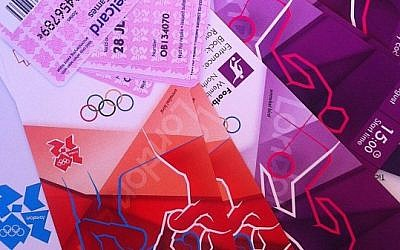 Olympic tickets. (photo credit:CC-BY insideology, Flickr)