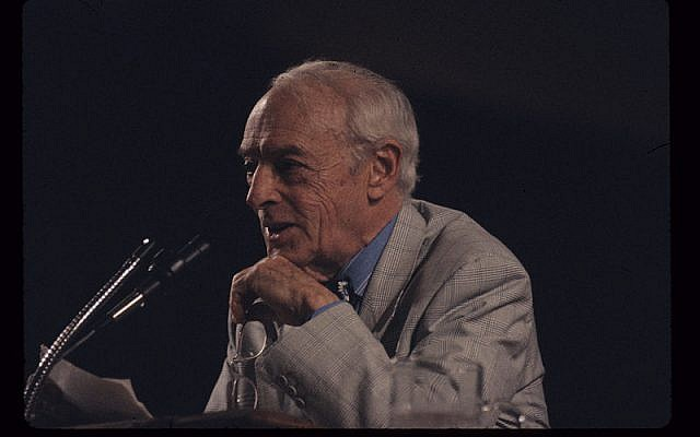 Saul Bellow (photo credit: CC-BY-SA MDCarchives, Wikimedia Commons)