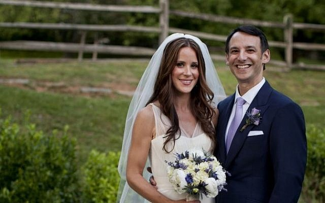 Biden S Daughter Marries Into The Tribe The Times Of Israel