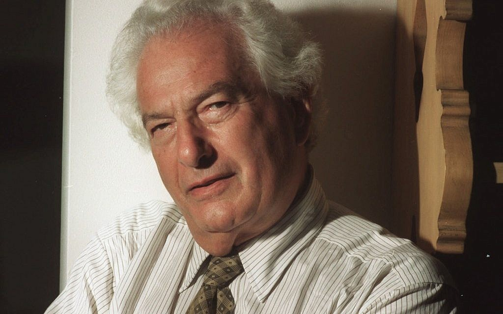 Joseph Heller, author of the classic anti-war novel 'Catch 22,' in 1994 in New York. (photo credit: AP Photo/Jim Cooper, File)