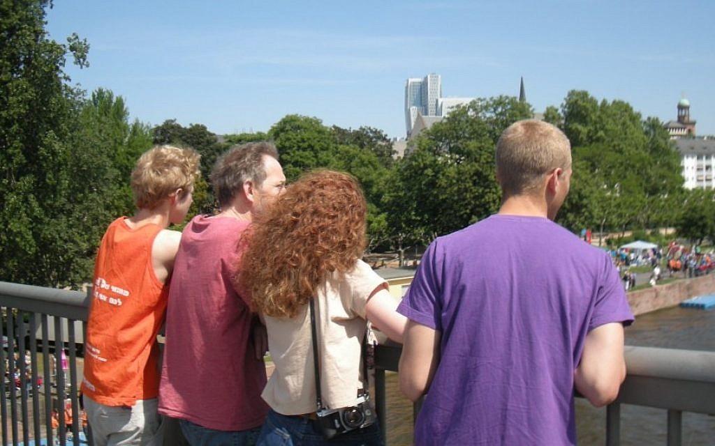 Some Horovitzes in Frankfurt (photo credit: LMH)