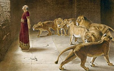 Daniel's Answer to the King, by Briton Riviere (photo credit: Manchester City Art Gallery/ Wikipedia Commons)