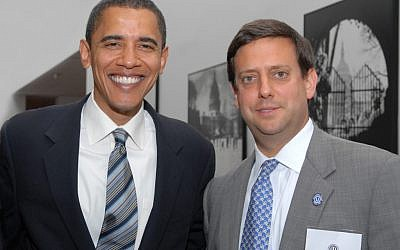 OU Policy Director Nathan Diament attended Harvard Law School at the same time as President Obama (photo credit: Courtesy Nathan Diament)