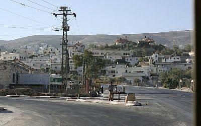 West Bank city of Jenin (photo credit: Matanya Tausig/Flash90)