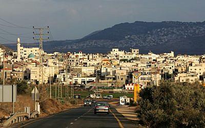 Kafr Manda, file (Moshe Shai/Flash90)
