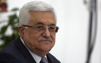 Palestinian Authority President Mahmoud Abbas (photo credit: Issam Rimawi/Flash 90)