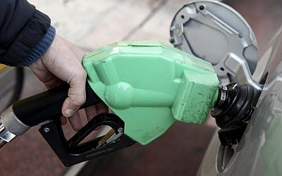 Gas prices are set to drop July 1 (illustrative photo credit: Kobi Gideon/Flash90)