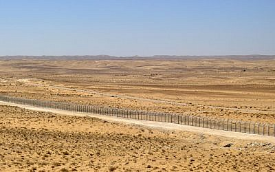 The Israel-Egypt border (photo credit: Yuval Nadal/Flash90)