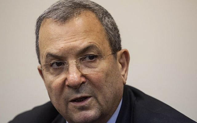 Ehud Barak (photo credit: Uri Lenz/Flash90)
