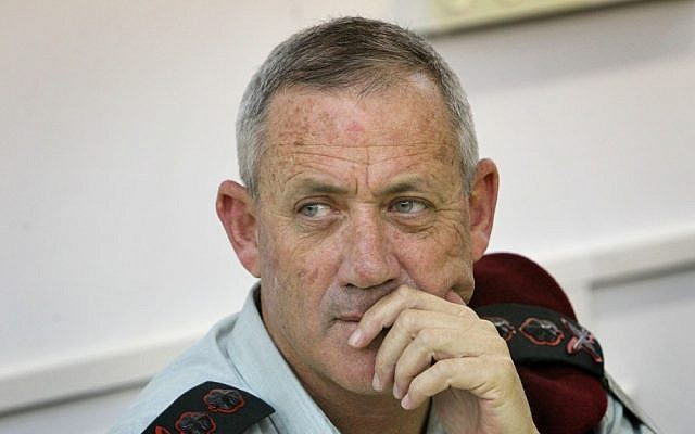 IDF Chief of the General Staff Benny Gantz (photo credit: Miriam Alster/Flash90)