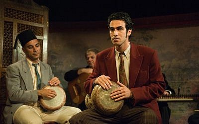 Salim Halali is played by Mahmoud Shalaby, from Acre. (photo credit: Courtesy)