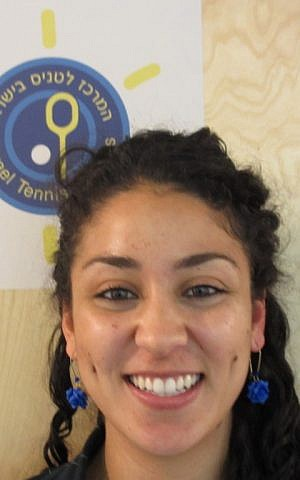 Nadine Fahoum from the Israel Tennis Center. (photo credit: Howard Blas)