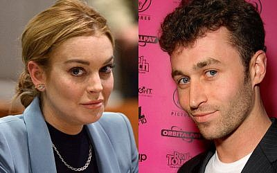 Lindsay Lohan will star opposite James Deen in her next film (photo credit: AP/Joe Klamar, CC-BY, Glenn Francis, Wikimedia commons)
