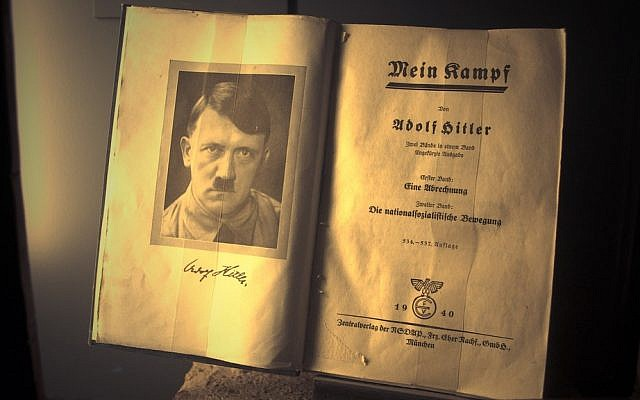 Over 12 million copies of 'Mein Kampf' have been sold. (photo credit: dccarbone/CC-BY, vi Flickr)