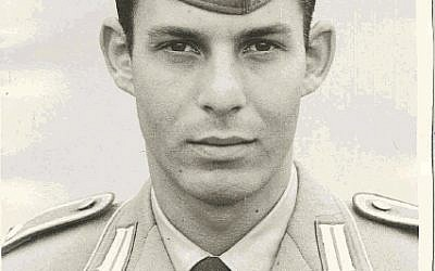 Michael Fuerst enlisted to West Germany's armed forces Paratroopers unit in 1966. (photo courtesy Michael Fuerst)