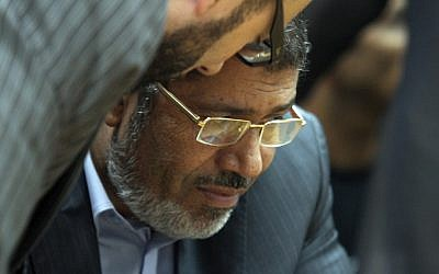 Egypt's newly-elected leader Mohammed Morsi (photo credit: Ahmed Gomaa/AP)