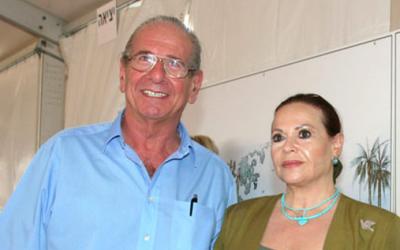 Israeli actors Chaim Topol and Gila Almagor are key figures in the Jordan River Village Camp (photo credit; courtesy, Jordan River Village Camp)