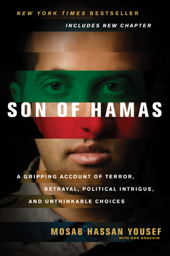 Mosab's autobiographical book 'Son of Hamas' (photo credit: courtesy/Tyndale Publishers)