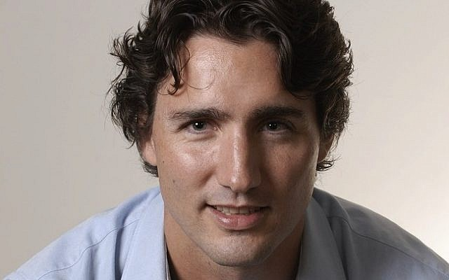 Canada's Liberal Party leader Justin Trudeau is critical of BDS motions at alma mater McGill University. (photo credit: Jean-Marc Carisse/Wikimedia Commons)