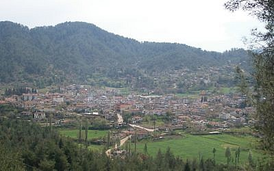 Yayladagi, on the Syrian border with Turkey (Photo credit: Vikicizer, Wikimedia Commons)