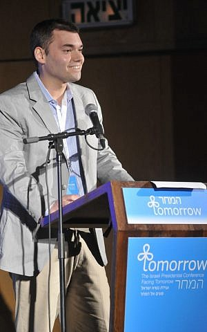 Peter Beinart. (photo credit: Courtesy of Shilo Productions)
