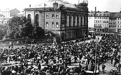 Borneplatz synagogue in its heyday