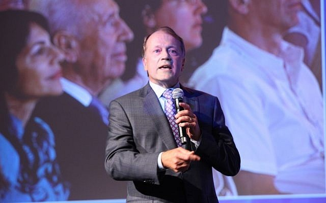 Cisco CEO John Chambers speaks at the Presidential Conference in June. (photo credit: Courtesy)
