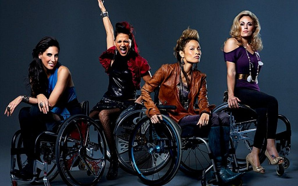 The cast of 'Push Girls,' a new reality series. (photo credit: Sundance Channel)