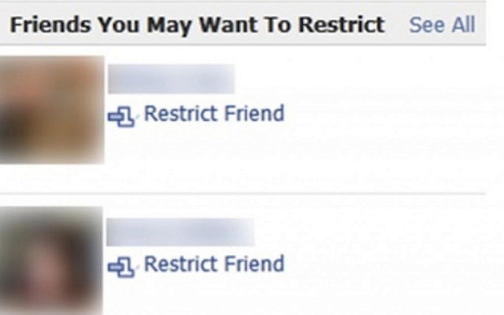 Jew Detector: Ben-Gurion Team Develops Facebook Phony Friend Detector
