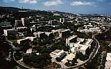 Technion Israel Institute of Technology campus in Haifa (Courtesy)