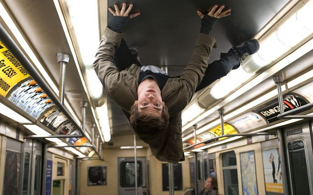 Scene from 'The Amazing Spider-Man,' opening soon. (photo credit: Courtesy)